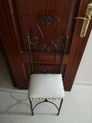 silla para dormitorio