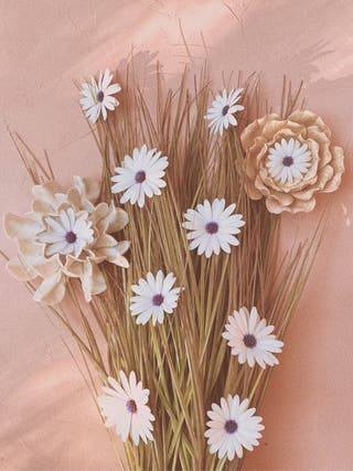 Preciosos Portavelas Antiguos Flores