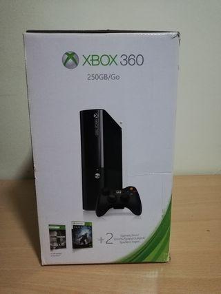 XBOX 360 250gb + JUEGOS GRATIS