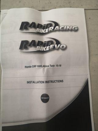 Centralita rapid bike crf 1000