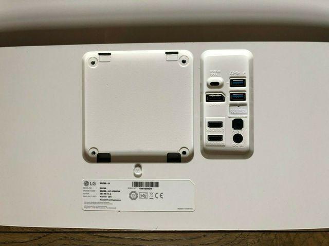 LG 38 curva Ultra Wide Monitor-LG 38UC99-W