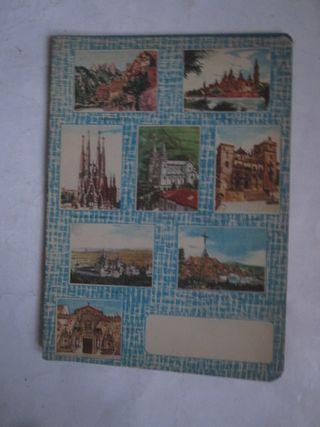 cuaderno iglesias y monasterios de España 1960 4