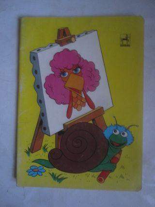 cuaderno gallina Caponata Barrio sésamo Centauro