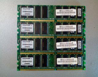 Kit 2gb 4x DDR400 512 mb kingston