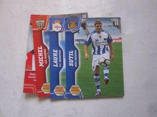 cromos álbum de fútbol mega Cracks 2010 2011 10-11