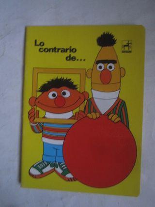 cuaderno Epi y blas Centauro Lo contrario de...