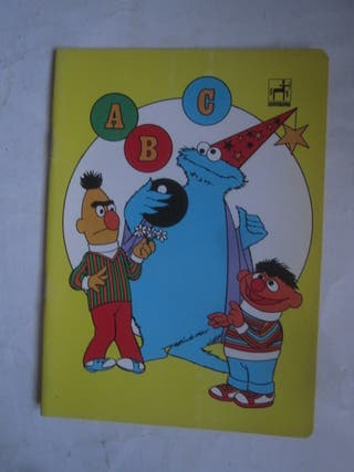 cuaderno Barrio Sésamo epi blas monstruo galletas