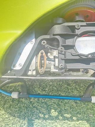 Helicoptero gasolina Raptor