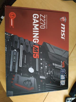 Placa MSI Z270 GAMING M5