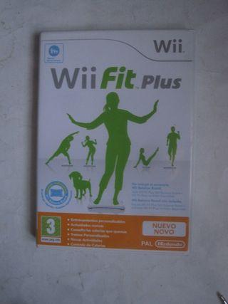 juego Wii fit plus Nintengo para la consola