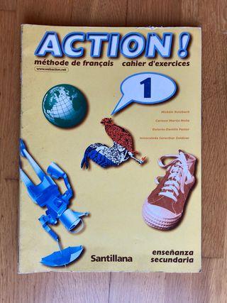 libro de texto y actividades ACTION!