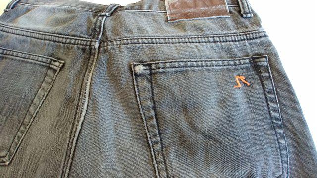 Pantalones tejanos para moto talla 48
