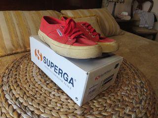 Zapatillas Superga Rojas 37