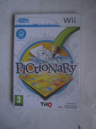 wii juego Pictionary Nintendo para la consola
