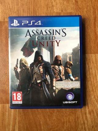 Juego Assassin creed unity PS4. Recogida en el cen