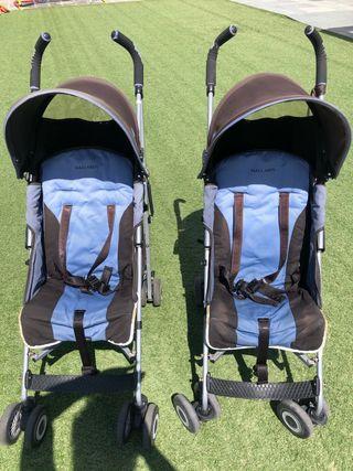 2 Carros bebé MACLAREN