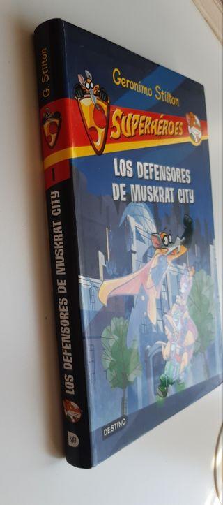 Gerónimo Stilton - Los Defensores de Muskrat City