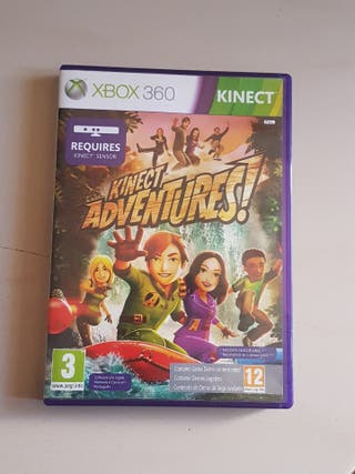 JUEGO xbox 360 kineckt adventures