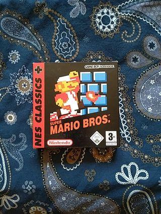 super mario bros nes classics game boy advance