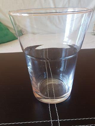 jarrón grande cristal