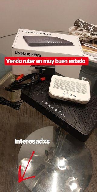 ROUTER LIVEBOX FIBRA
