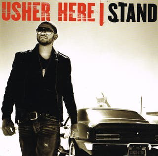 USHER HERE. STAND. CD.