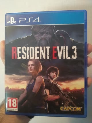 RE 3 REMAKE 45€ PS4