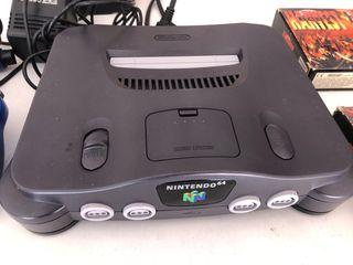 Nintendo 64 más juegos