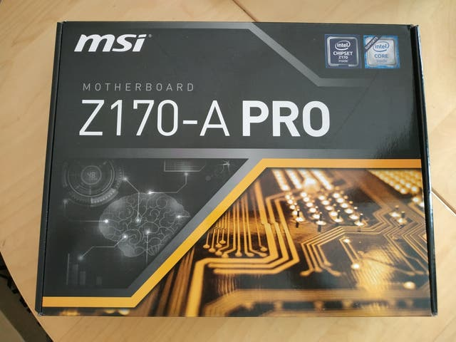 Placa MSI Z170-A PRO GAMING