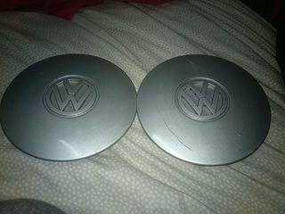 2 tapacubos Volkswagen