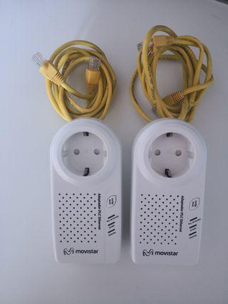 Adaptador PLC-Ethernet Movistar