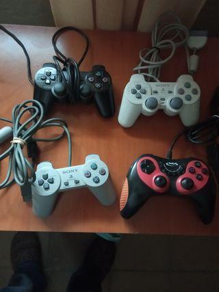 mandos consola Playstation 1 y 2