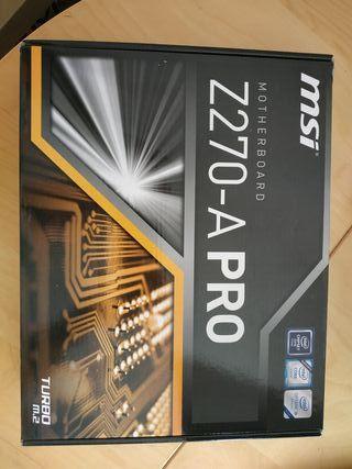 Placa MSI Z270-A PRO GAMING