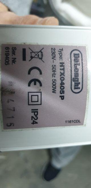 estufa de aceite eléctrica 500 Watts
