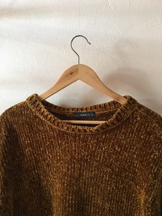 Jersey Zara dorado