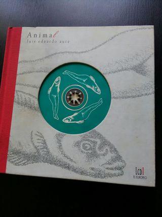 Luis Eduardo AUTE - ANIMAL- libro disco+CD firmado