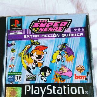 juego Super Nenas PlayStation