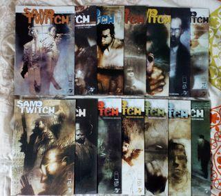 Colección completa cómics Sam&Twitch Image comics