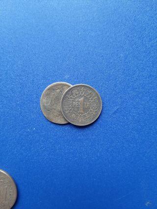 monedas 1peseta 1944