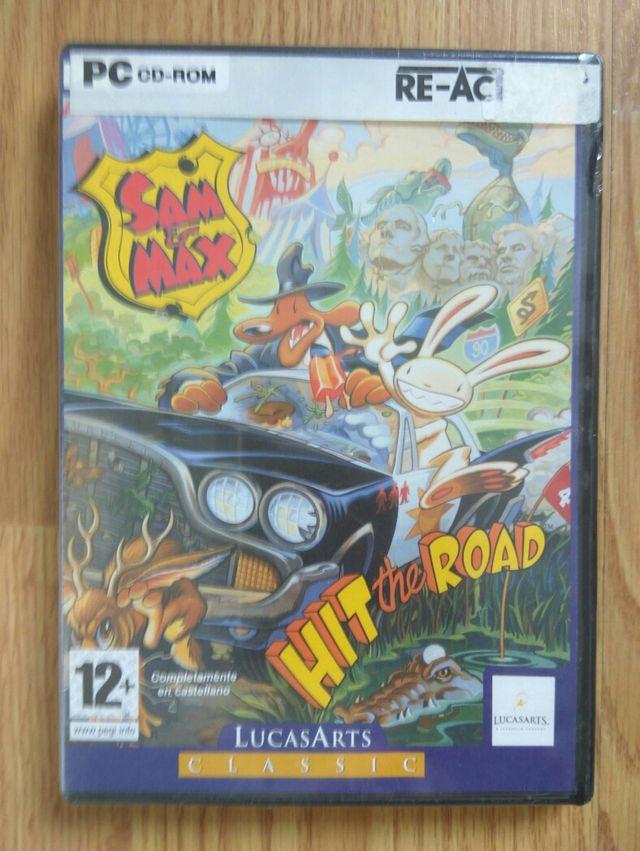 Sam & Max hit the road pc precintado