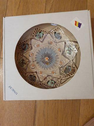 Plato cerámica de Horezu, Rumania.