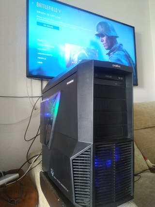 PC Gaming, I7, 16GB , RX 480 8GB ,SSD