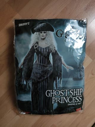 disfraz fantasma pirata mujer