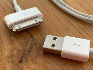 Cable USB para Iphone 4 4S iPad 1 2 3 iPod touch