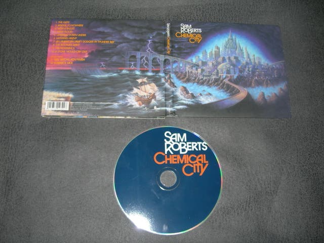 CD SAM ROBERTS-CHEMICAL CITY heavy rock