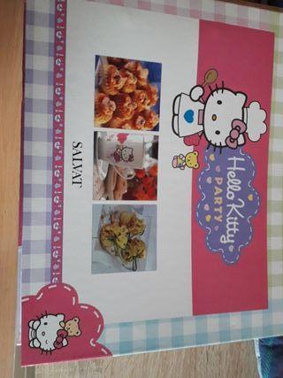 4 libros de cocina Hello Kitty
