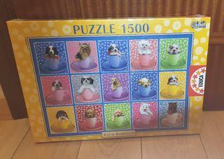 Puzzle Educa cachorros de perros