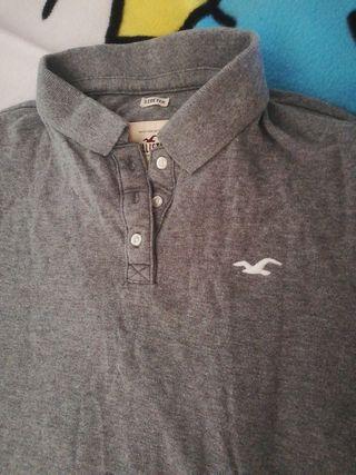 Polo/Camiseta de HOLLISTER, talla L