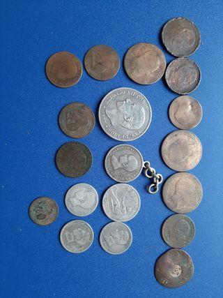 monedas antiguas España