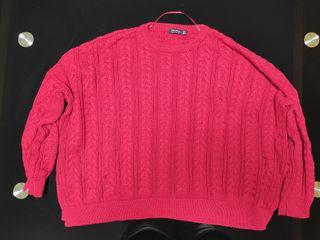 Jersey rojo del Bershka